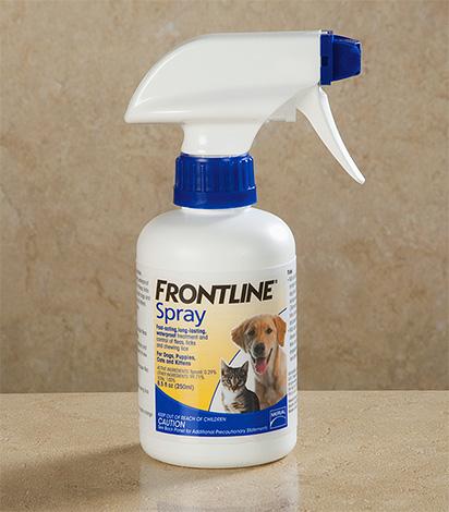 Спрей Фронтлайн от блох для собак и кошек