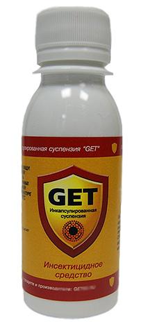 Для того чтобы избавиться от мокриц, можно воспользоваться практически любым эффективным средством от насекомых, например, препаратом Get