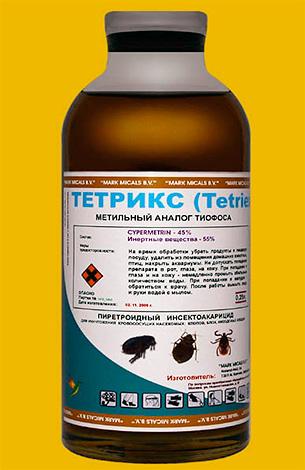Средство для профессиональной дезинсекции Тетрикс (Tetriex)