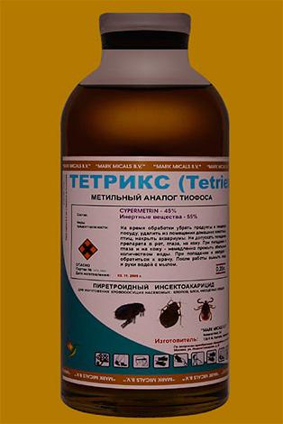 Инсектицидный препарат Тетрикс