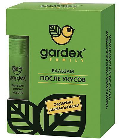 Бальзам после укусов насекомых Gardex Family поможет в том случае, когда пораженное место нестерпимо чешется.