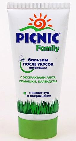 Бальзам после укусов насекомых Picnic Family