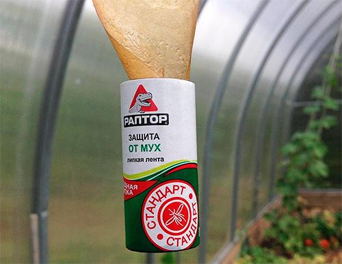 Липкая лента Раптор для защиты от мух