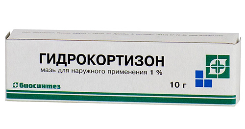 Гидрокортизоновая мазь применяется при укусах насекомых для предотвращения развития аллергической реакции.