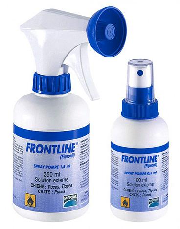 Спрей от блох Frontline (Фронтлайн)