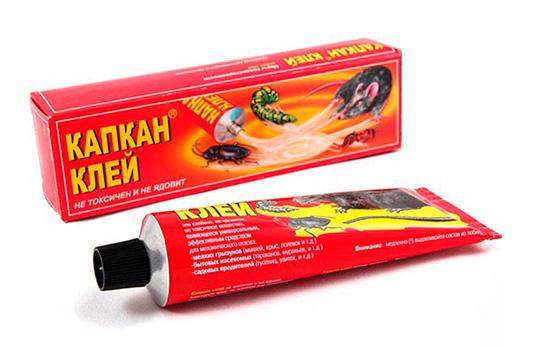 Клей для приготовления клеевых ловушек от грызунов и насекомых Капкан
