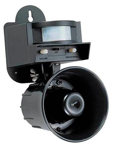 Мощный ультразвуковой отпугиватель LS-2001 - предназначен, прежде всего, для отпугивания птиц.