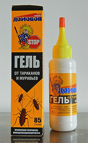 Инсектицидные гели работают как отравленные приманки и уничтожают насекомых после того, как те их съедят.
