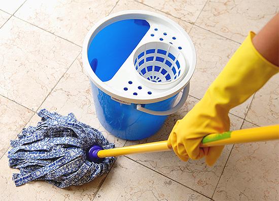 Через несколько часов после завершения процедуры необходимо провести влажную уборку в помещении.