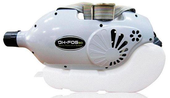 DH-FOG 50 - компактный генератор холодного тумана, часто используемый службами дезинсекции.