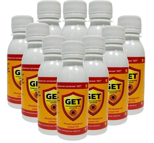 Микрокапсулированное инсектицидное средство Get (Гет).