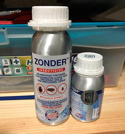 Зондер является довольно редким примером многокомпонентного микрокапсулированного препарата.