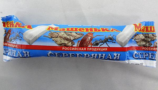 Мелок Машенька (а также китайские инсектицидные карандаши) не способен быстро отравить всех тараканов в помещении, однако в качестве профилактическго средства вполне эффективен.