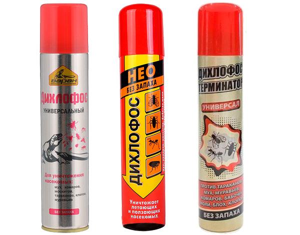 Сегодня инсектицидные аэрозоли, продаваемые под торговой маркой Дихлофос, принципиально отличаются от советского одноименного препарата.
