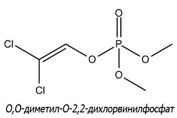 Диметилдихлорвинилфосфат (сокращенно дихлофос)