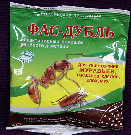 Средство от насекомых Фас-Дубль
