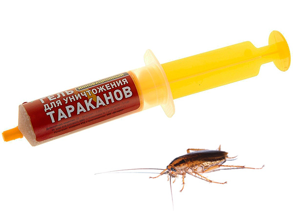 Насколько эффективны средства от тараканов в шприцах? Давайте разбираться...