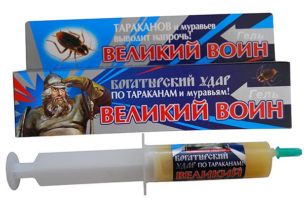 Инсектицидный гель Великий Воин