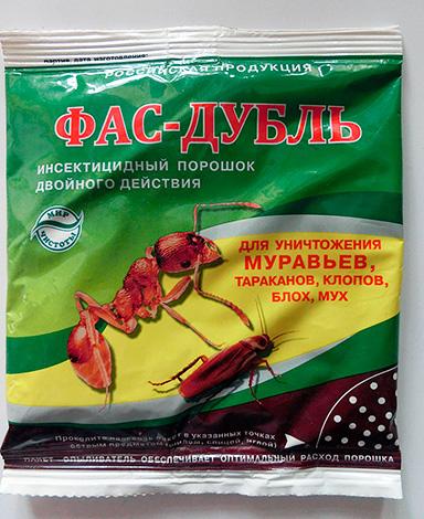 Инсектицидный порошок Фас-Дубль