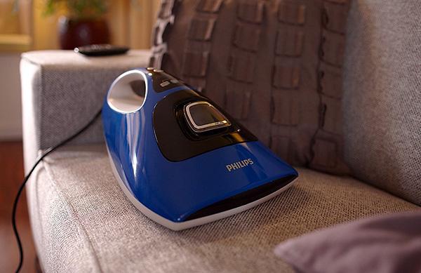 Специальный пылесос Philips для эффективного удаления пылевых клещей из матрасов, подушек и ковров.