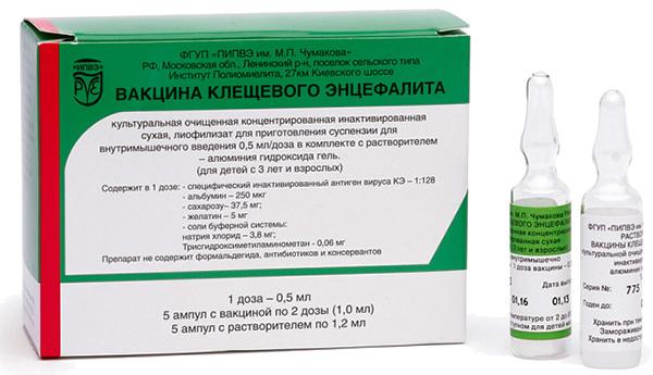 Вакцина клещевого энцефалита