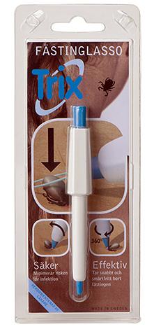 Ручка-лассо хорошо подходит для выкручивания паразитов из труднодоступных мест.