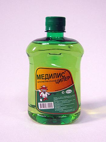 Действующим веществом средства Медилис Ципер является циперметрин.