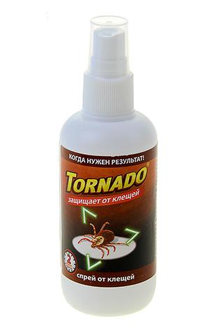 Спрей от клещей Tornado
