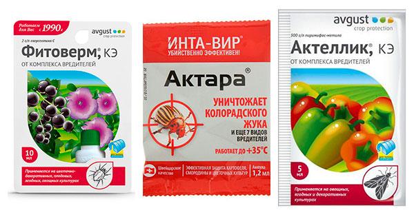 Препараты для борьбы с земляничным клещом