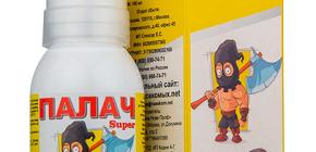 Обзор Палач Super: средство от клопов, тараканов, блох, муравьев