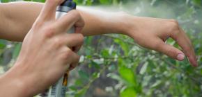 Спреи и аэрозоли для защиты от клещей