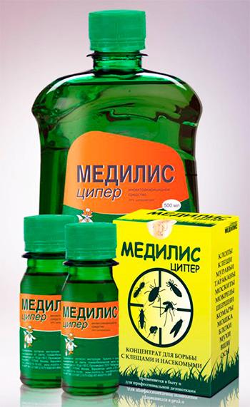 Эффективное средство от насекомых Медилис Ципер