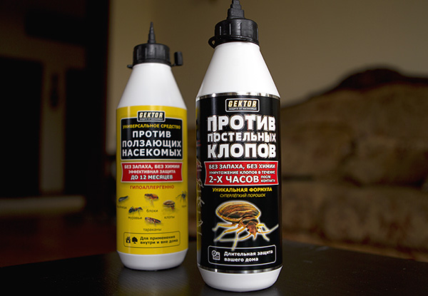 Серия порошкообразных средств от насекомых Гектор
