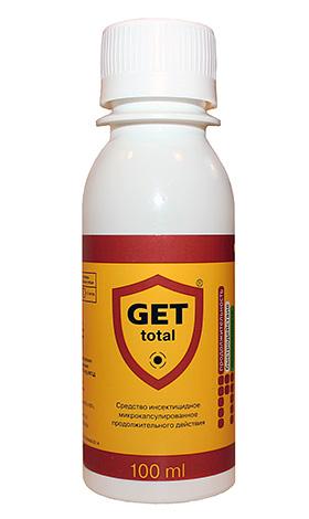 Современный микрокапсулированный препарат от насекомых Get