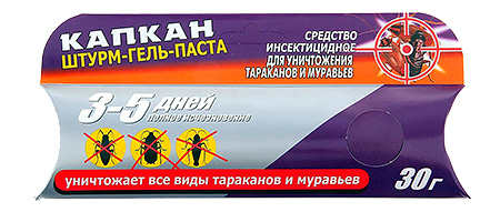 Капкан штурм-гель-паста