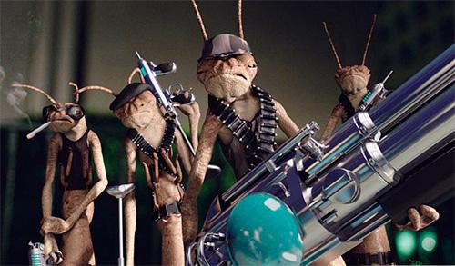 Тараканы-инопланетяне