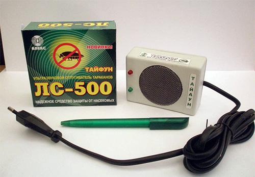 Ультразвуковой отпугиватель тараканов Тайфун ЛС-500