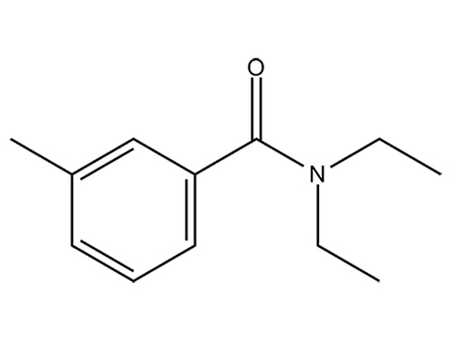 Репеллент для насекомых ДЭТА: химическая структура