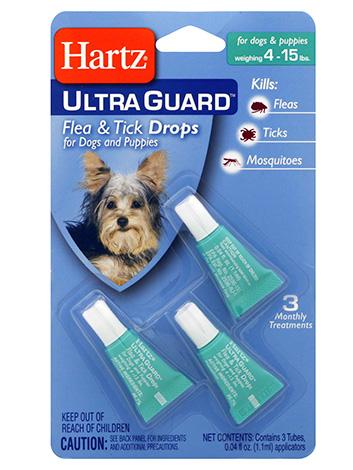Капли от блох для собак Hartz Ultra Guard
