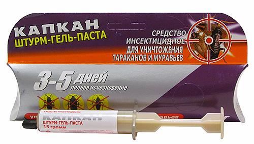 Штурм-гель-паста Капкан