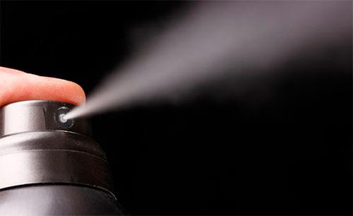 Инсектицидные аэрозоли особенно эффективны против муравьев, если хотя бы примерно известно место дислокации их гнезда