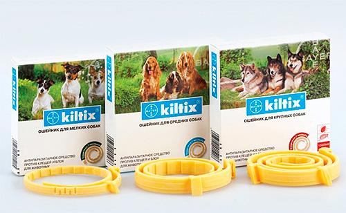 Противоблошиные ошейники для собак Kiltix