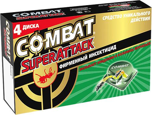 Инсектицидная ловушка против муравьев Combat SuperAttack
