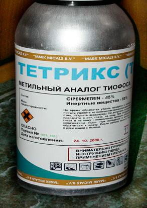 Профессиональное инсектицидное средство Тетрикс
