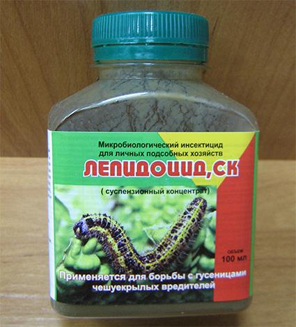 Препарат Лепидоцид для борьбы с капустной молью