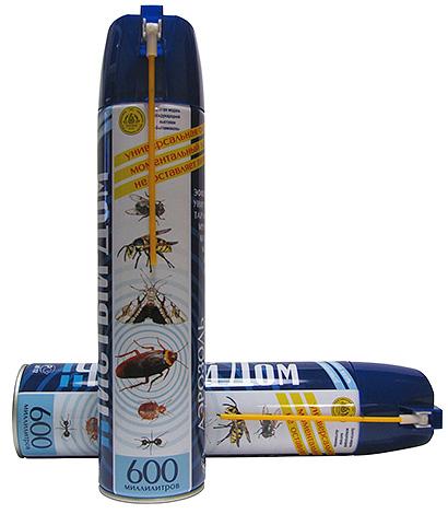Универсальный аэрозоль от насекомых Чистый дом