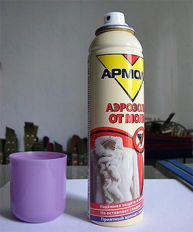 Армоль - аэрозоль от моли