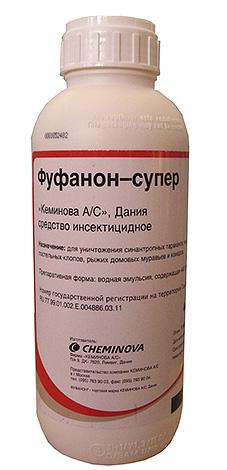 В составе средства Фуфанон-супер также используется малатион