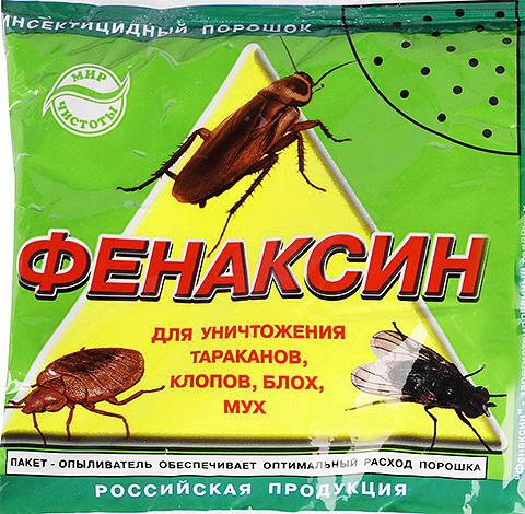 Инсектицидный порошок (дуст) Фенаксин