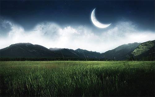 В старину заговоры обычно использовались на убывающий месяц, который символизировал избавление от ненужного и плохого